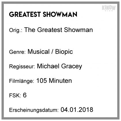 Greatest Showman Kritik