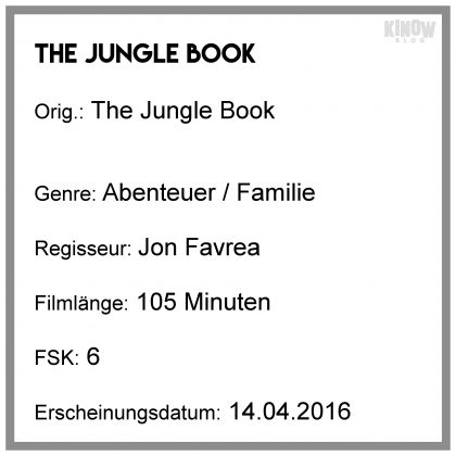 The Jungle Book - Throwback