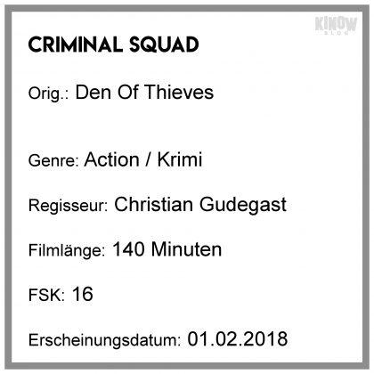 Infobox Kritik Criminal Squad