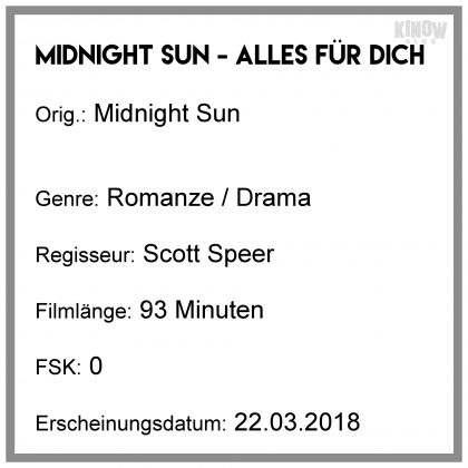Midnight Sun Kritik Infobox
