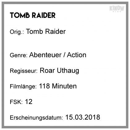 Tomb Raider Infobox Kritik