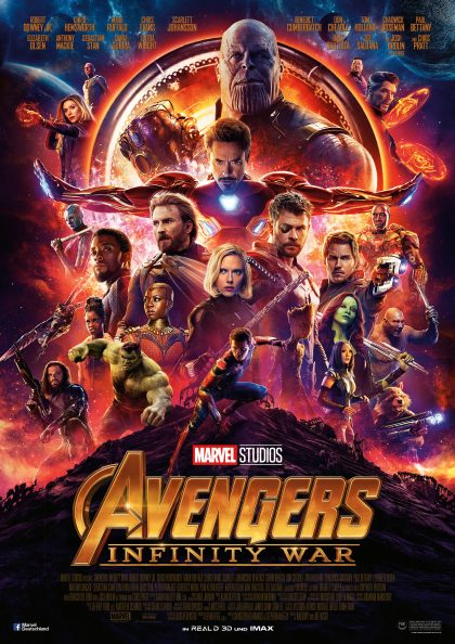 Poster Infinity War Kritik