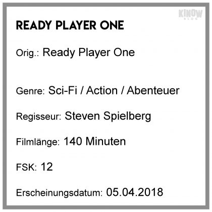 Ready Player One Kritik Info