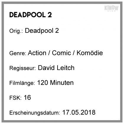 Deadpool 2 Kritik Info