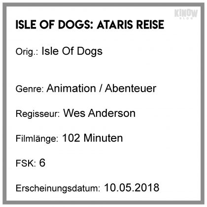 Isle Of Dogs Kritik Info