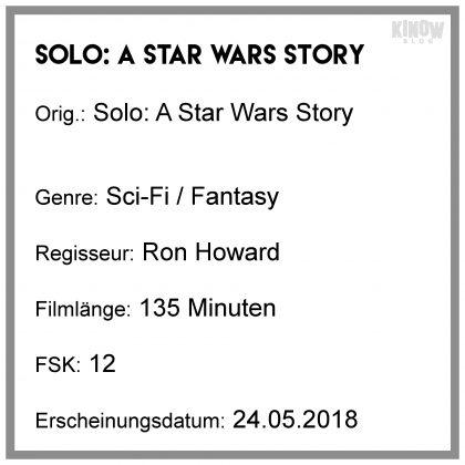 Solo A Star Wars Story Info Kritik