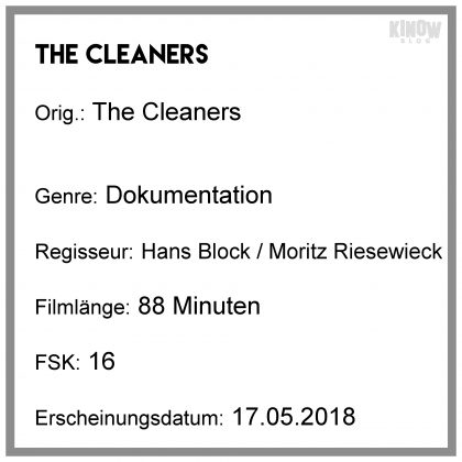 The Cleaners Kritik Info