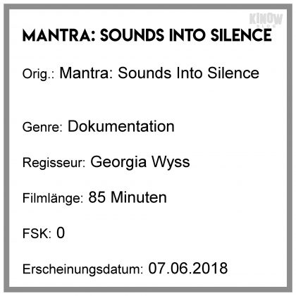 Mantra: Sounds Into Silence Info Kritik