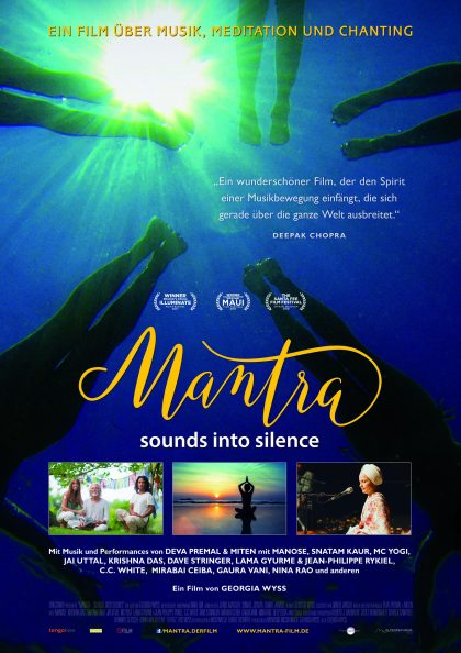 Plakat Mantra: Sounds Into Silence