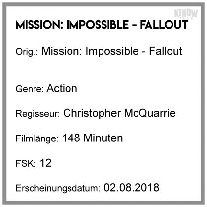 Mission: Impossible Fallout Kritik Info