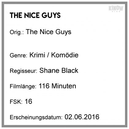 The Nice Guys Tipp