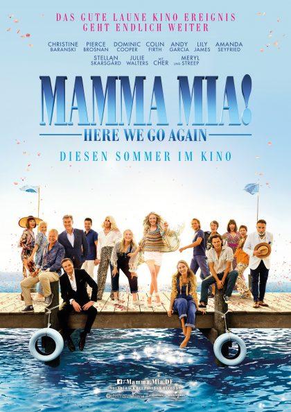 Poster Mamma Mia!: Here We Go Again