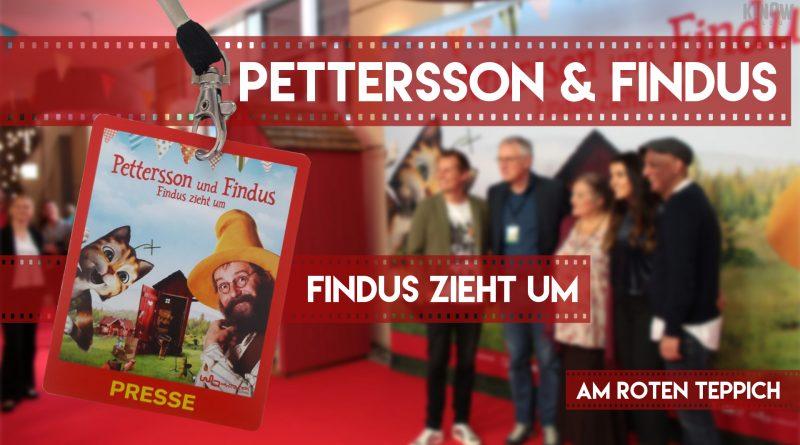 Roter Teppich Pettersson & Findus - Findus zieht um