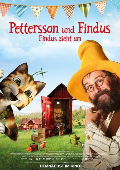 Poster Petersson & Findus - Findus zieht um