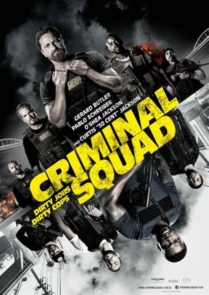 Criminal Squad Plakat