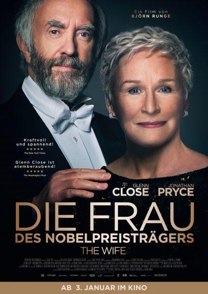 Poster Die Frau des Nobelpreisträgers