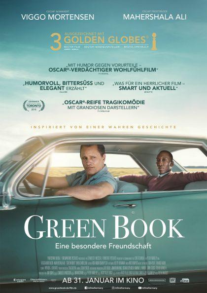 Green Book - Eine besondere Freundschaft Plakat
