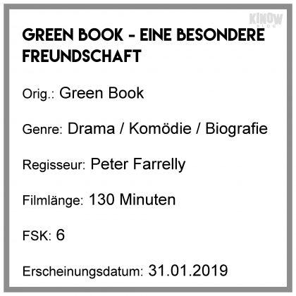 Green Book - Eine besondere Freundschaft Kritik Info