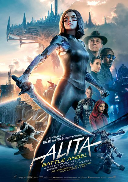 Alita: Battle Angel Plakat