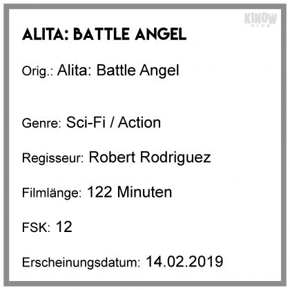 Alita: Battle Angel Kritik Info