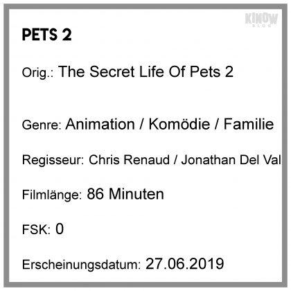 Pets 2 Kritik Info