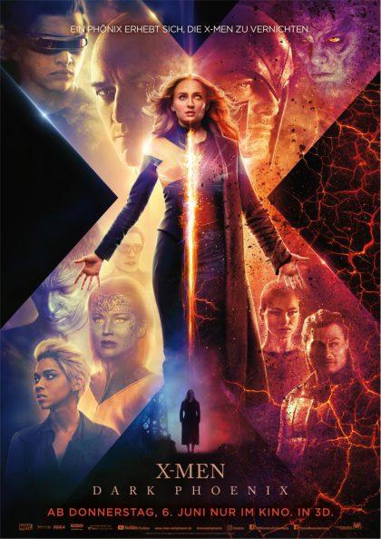 Plakat X-Men: Dark Phoenix
