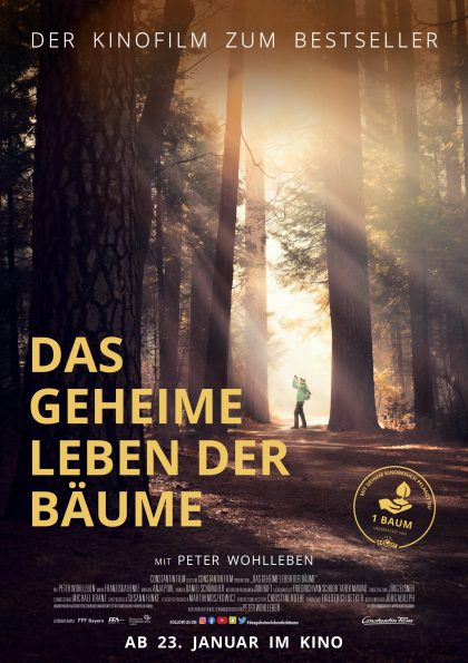 Poster Das geheime Leben der Bäume