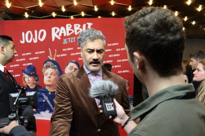 Roter Teppich Interview Taika Waititi