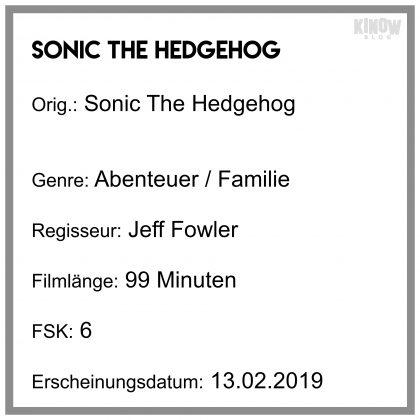 Sonic Info Kritik